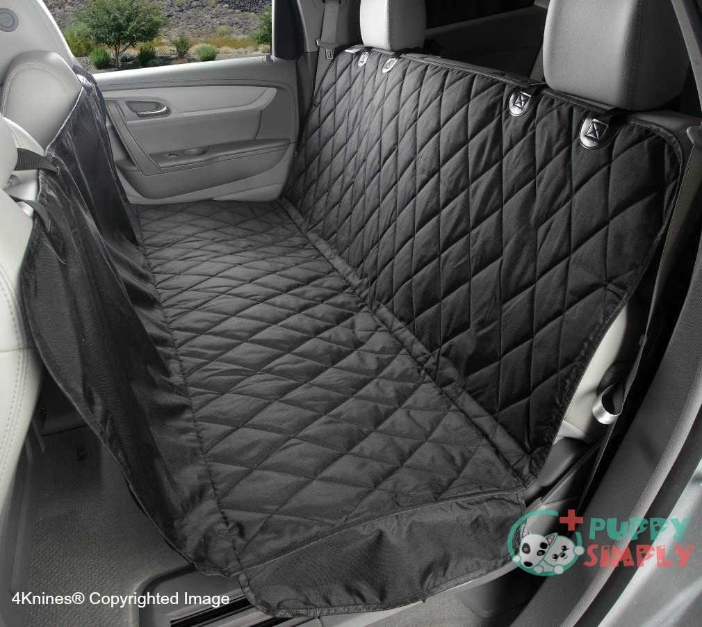 4Knines Dog Seat Cover with