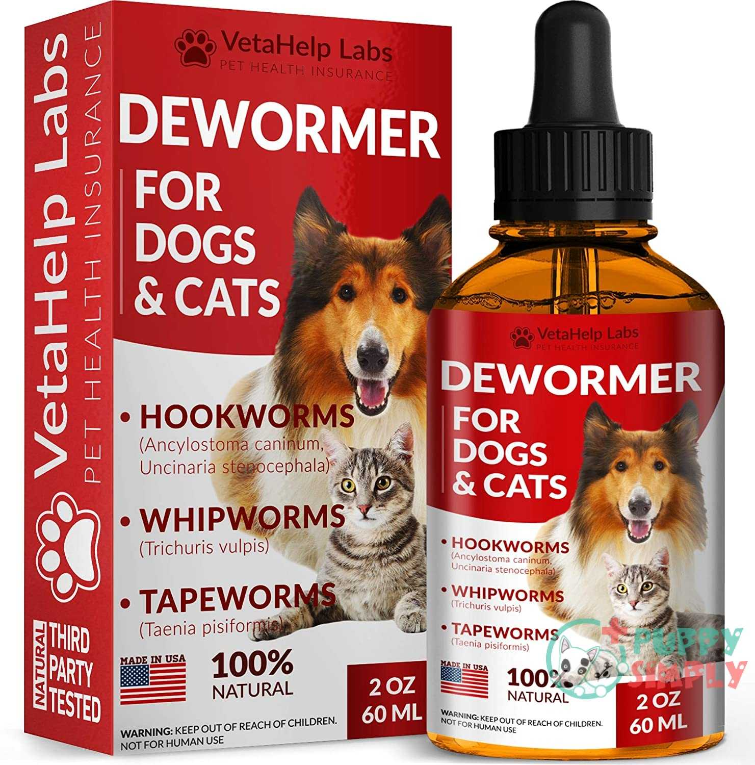 DEW0RMER for Dogs & Cats