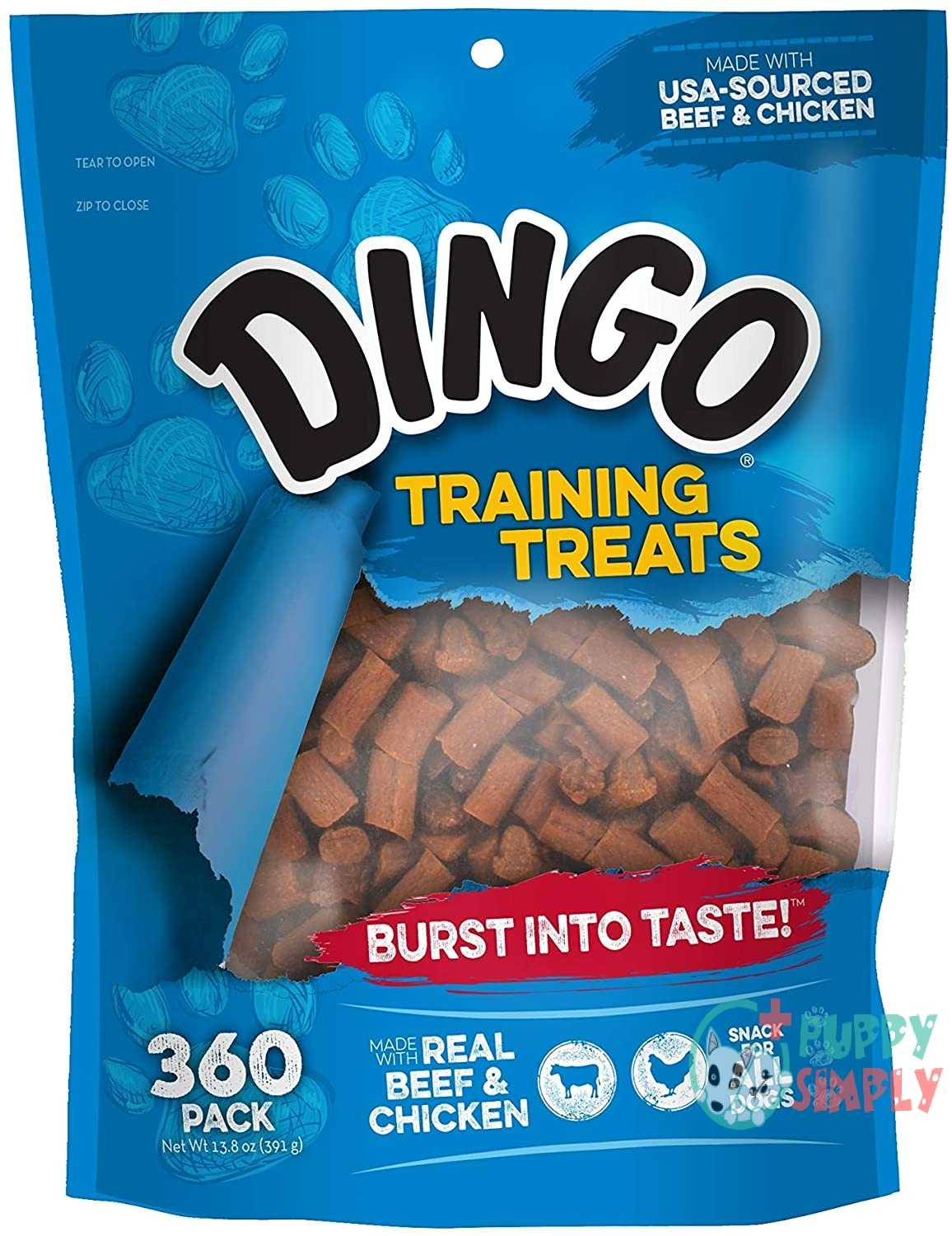 Dingo Soft & Chewy Beef/Chicken