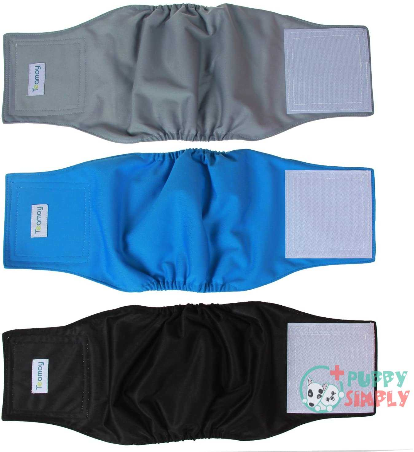 Teamoy Reusable Wrap Diapers for