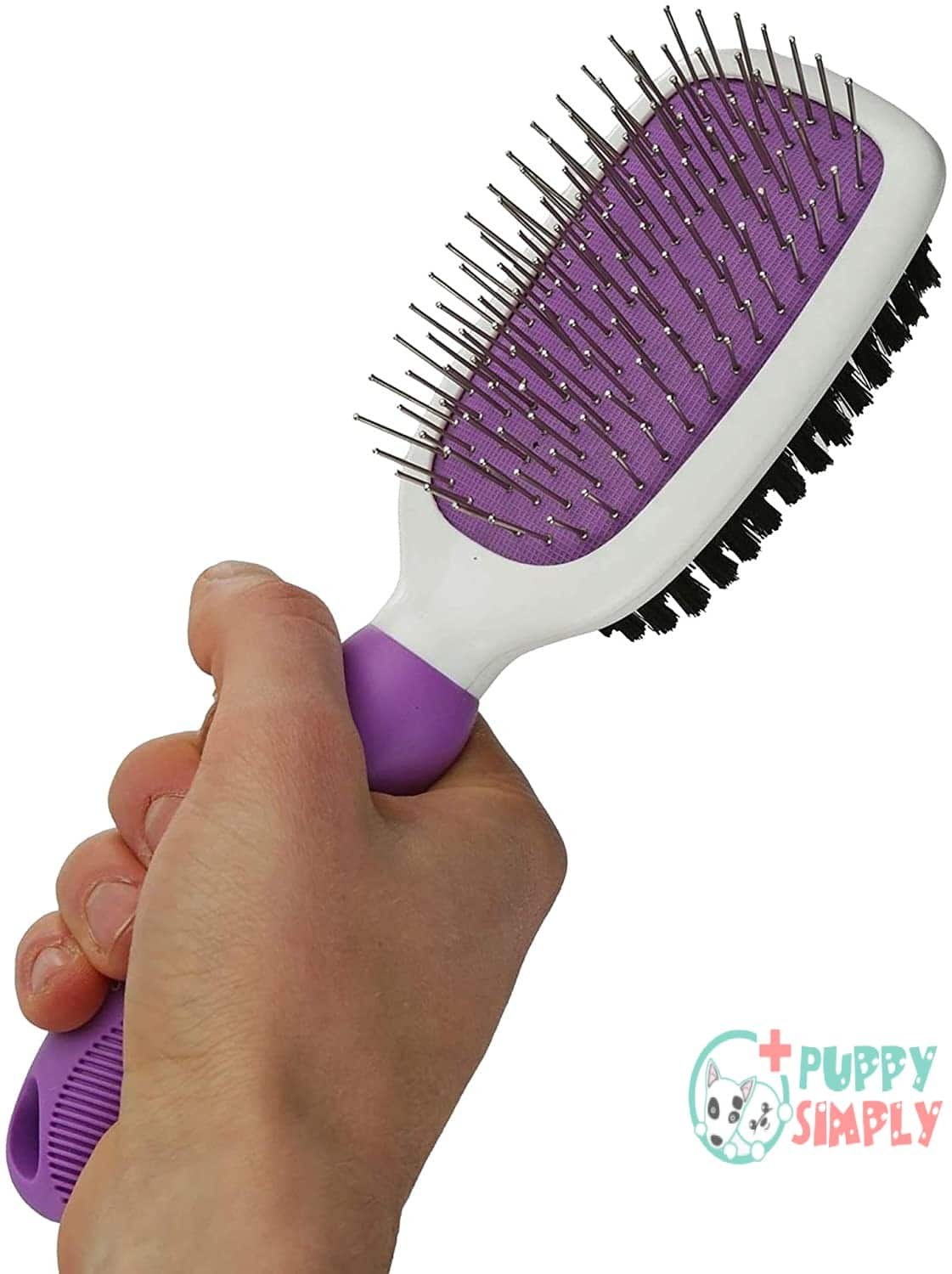 Double-Sided Pet Brush for Grooming