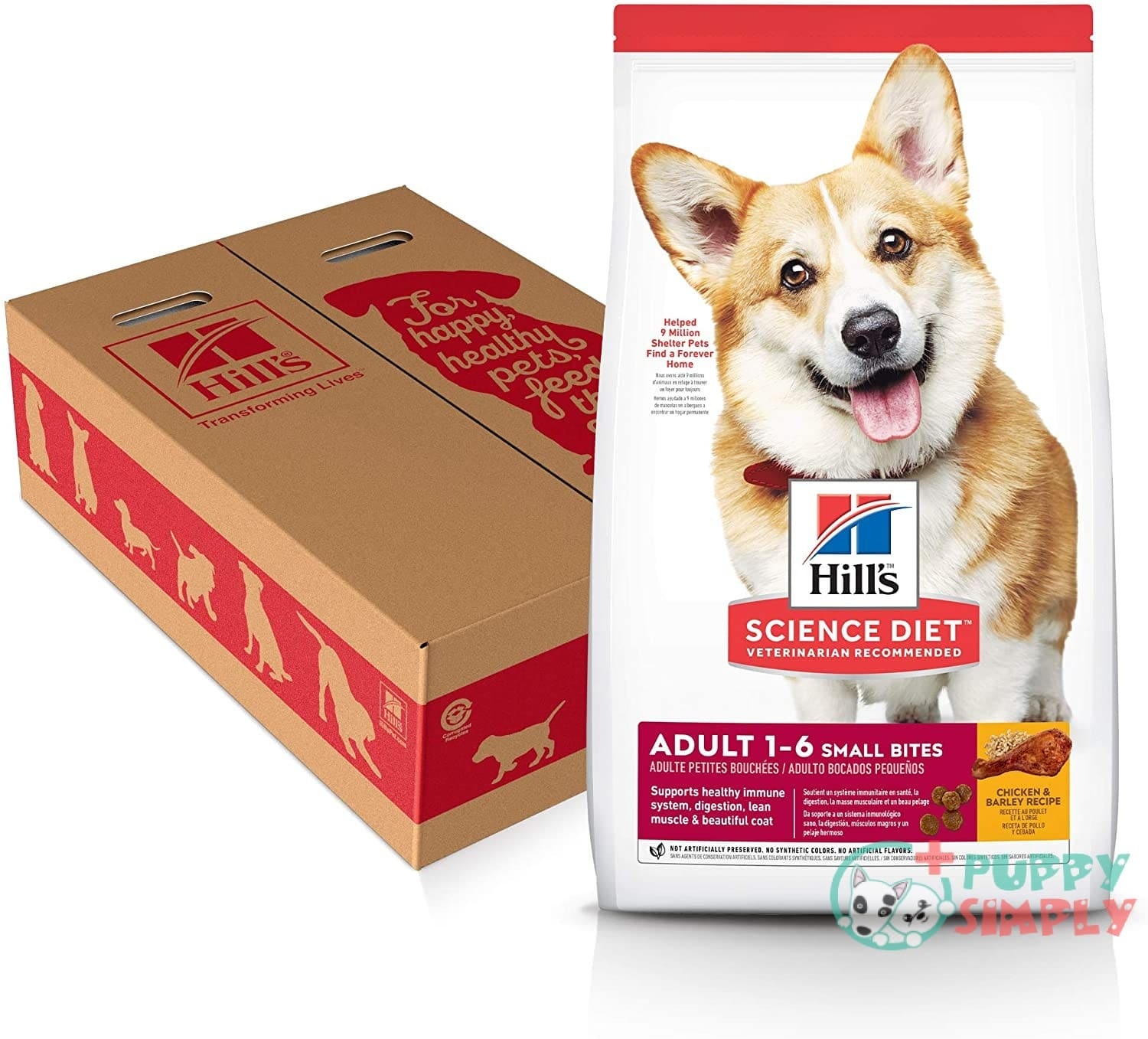 Hill's Science Diet Dog Food for Pugs
