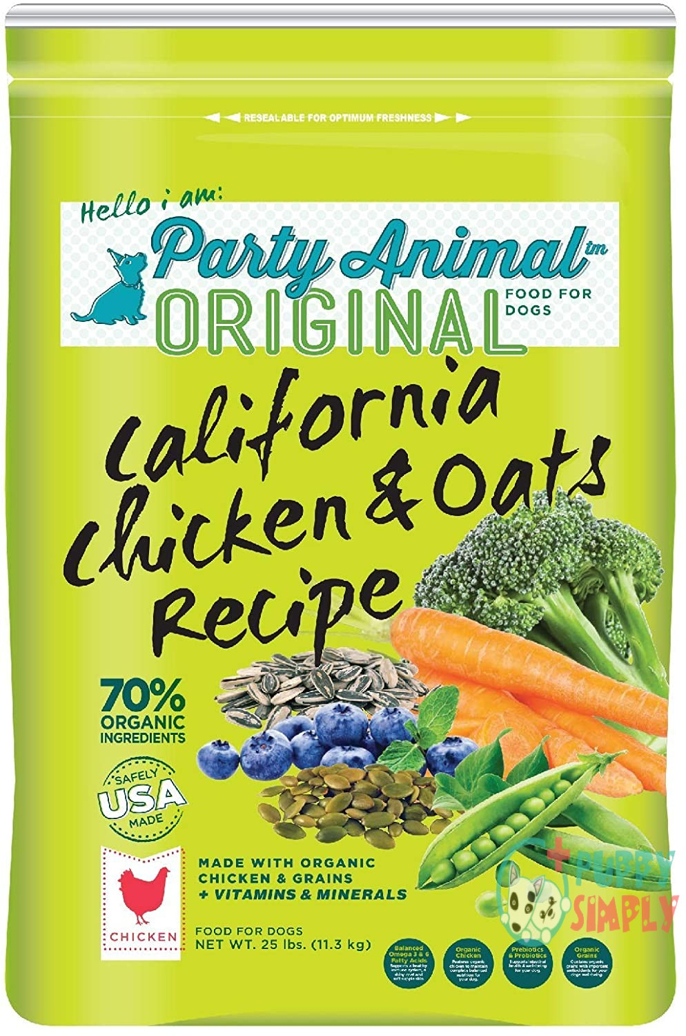 Party Animal California Chicken and